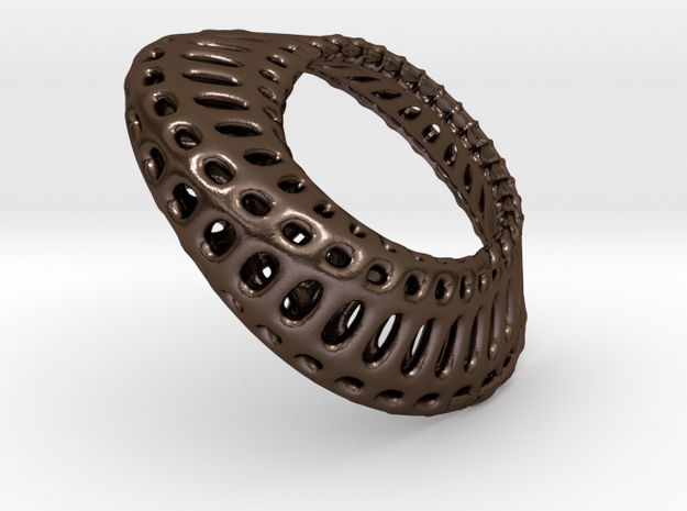 mobius band wireframed 38mm 3d printed