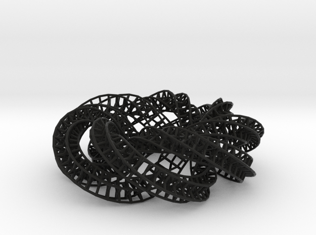 Trefoil Starry Knot Formalbs 6 3d printed