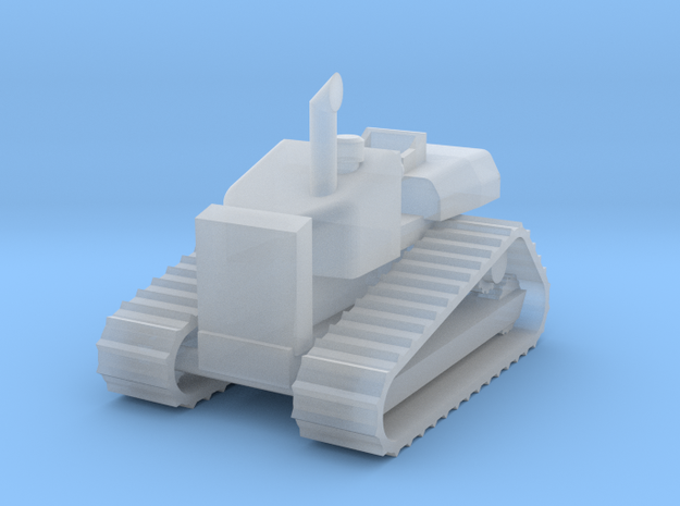Caterpillar D4H Tractor - Zscale 3d printed