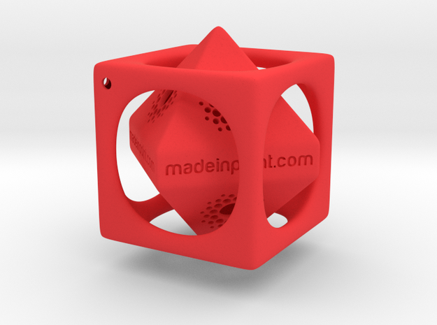 Custom Key Holder Inséparable for Made In Point 3d printed