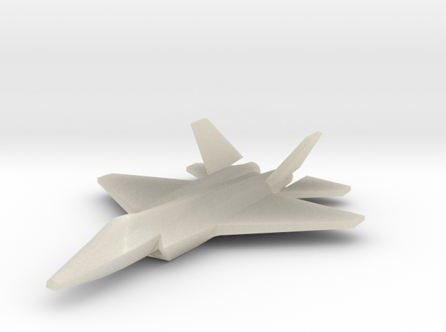 1/285 (6mm) J-31 Falcon Eagle 3d printed