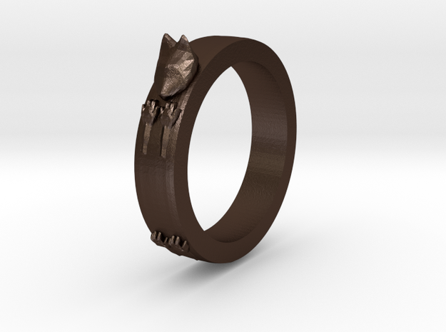 Kitty Ring ~ Size 8 3d printed