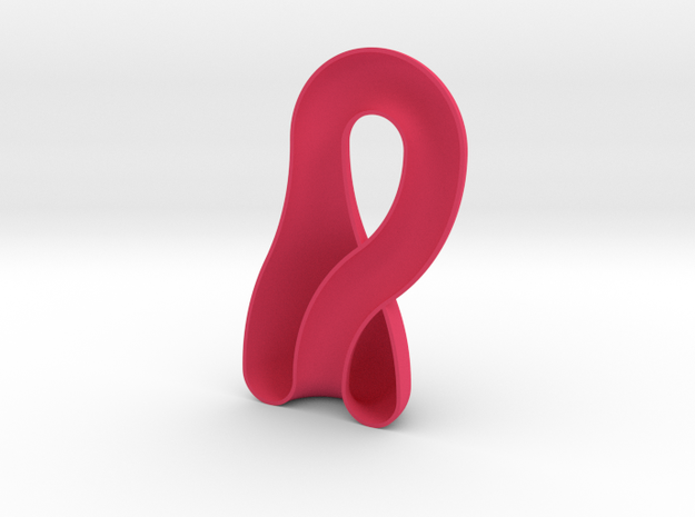 klein bottle 1/2 3d printed