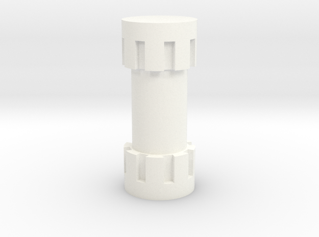 1/18 Isotope Canister 3d printed