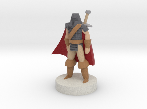 Warrior - Full Color 3d printed