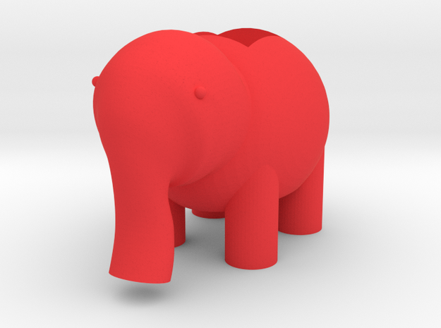 Elephant LED Lamp 3d printed