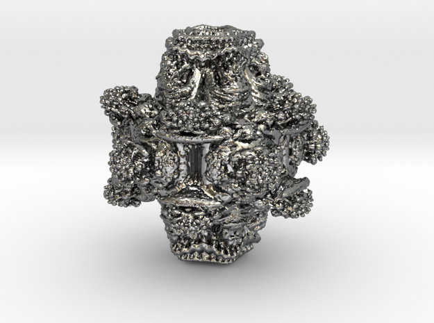 Power6 Mandelbulb 3d printed