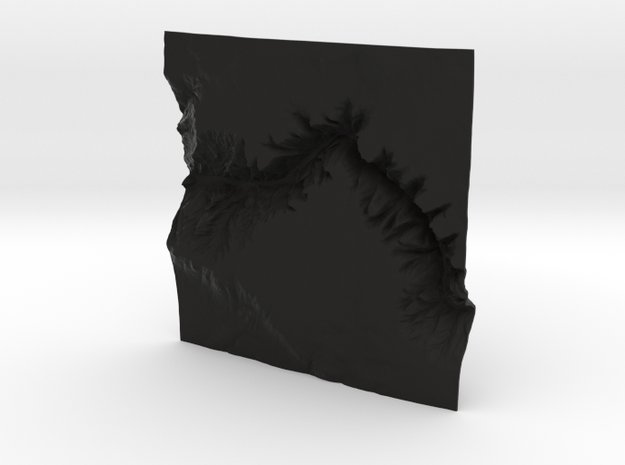 4'' Black Canyon of the Gunnison, CO, WSF 3d printed
