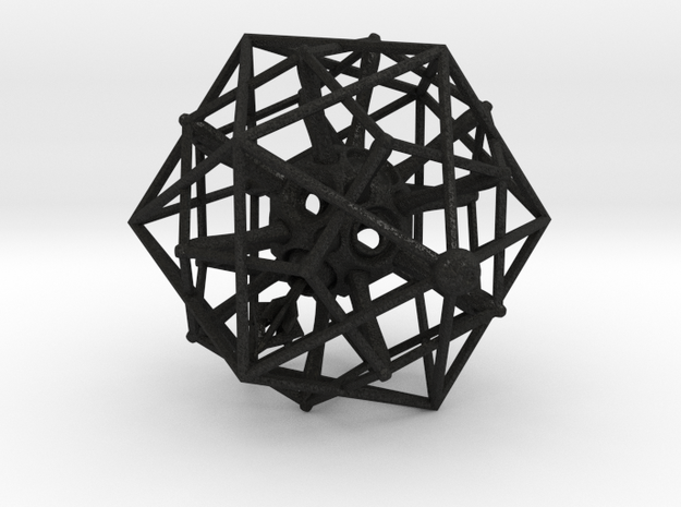 IcosoDodeca SpinPointer 1 4cm 3d printed