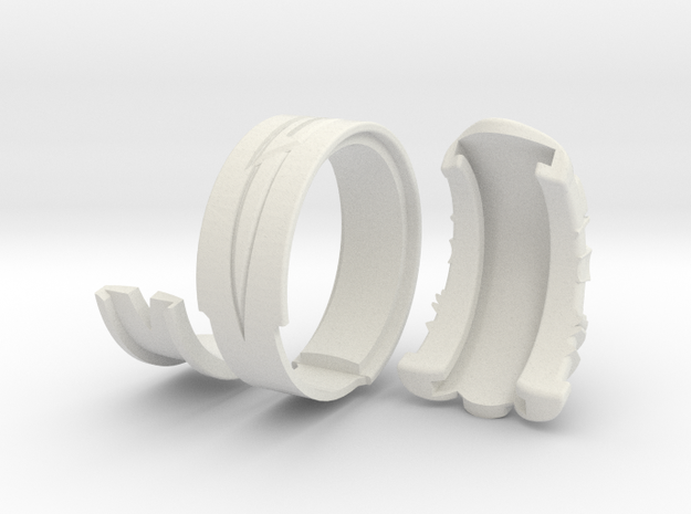 Vambrace Ring 7 3d printed