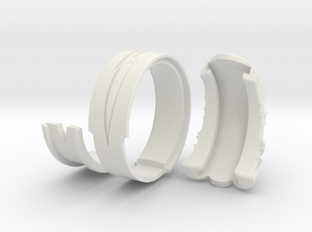 Vambrace Ring 8 3d printed