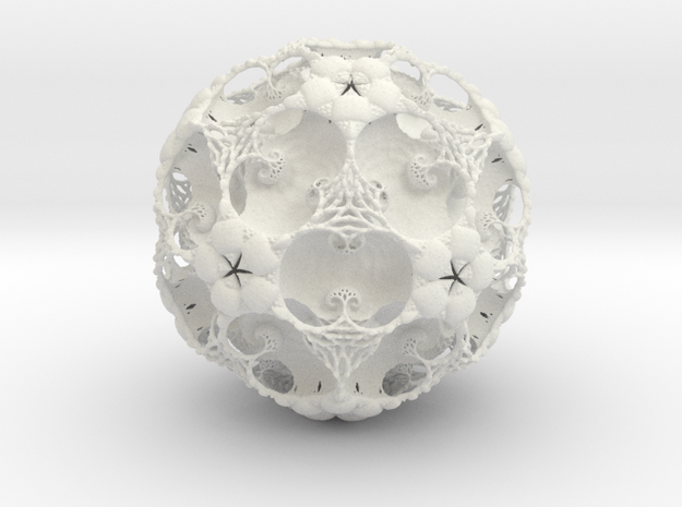 IcosaBall Detail 9 3d printed