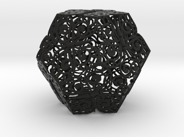 Butterfly Dodecahedron 02 3d printed