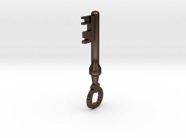 TF2 Mann Co. Supply Crate Key (Small) 3d printed