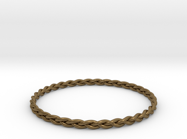Braid bangle 3d printed