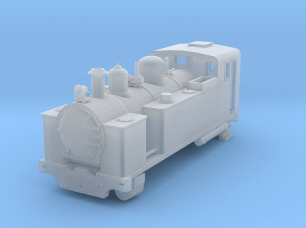 1:64 Scale NZR H Class (Fell) 3d printed