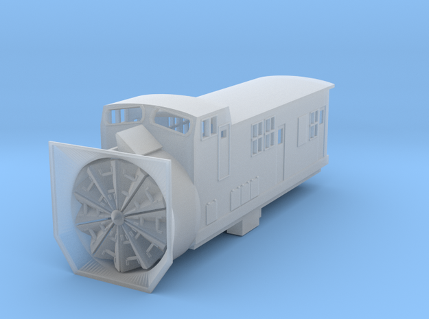 Railroad Snow Plow - Nscale 3d printed