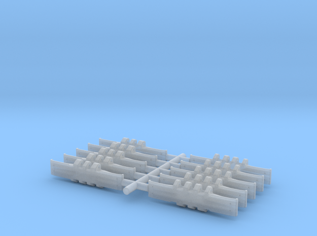 Crawler Single Track 10- Piece Set 3d printed