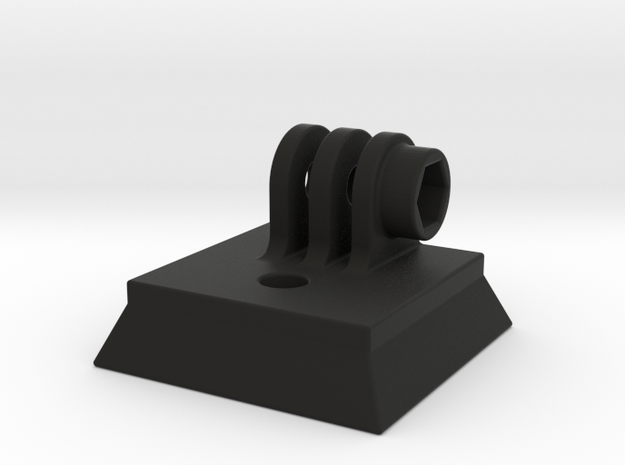 Gopro mount on tripod quickrelease plate 41x41mm 3d printed