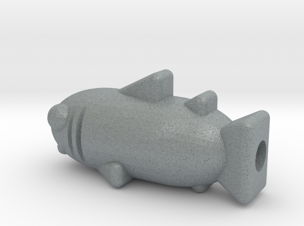 Sharky 3d printed