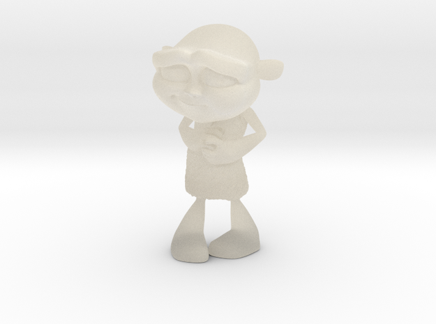 Gus Figurine - Small - Plastic 3d printed