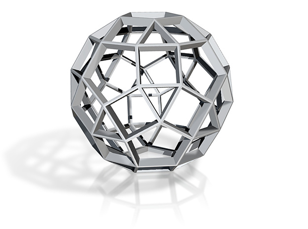 Polyhedral Sculpture #28A 3d printed