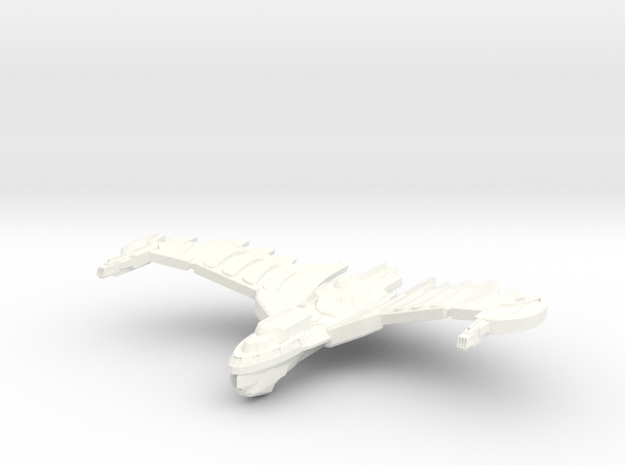 HawkWing Class Cruiser (wings Up) Small 3d printed