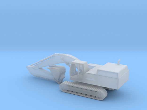 Back Hoe Ship 3d printed