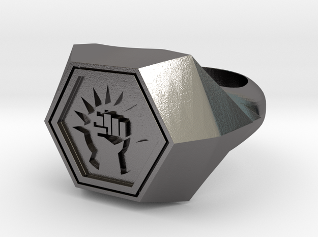 Magic: The Gathering Boros Ring(US Size 12) 3d printed