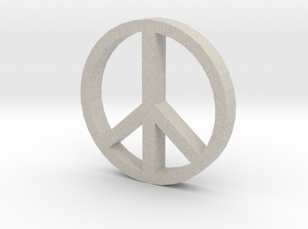 Peace 100 3d printed