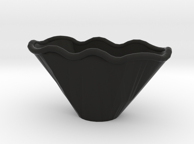 Wave Bowl Correct 3d printed