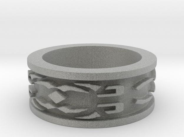 Rune Ring 2 Ring Size 9 3d printed