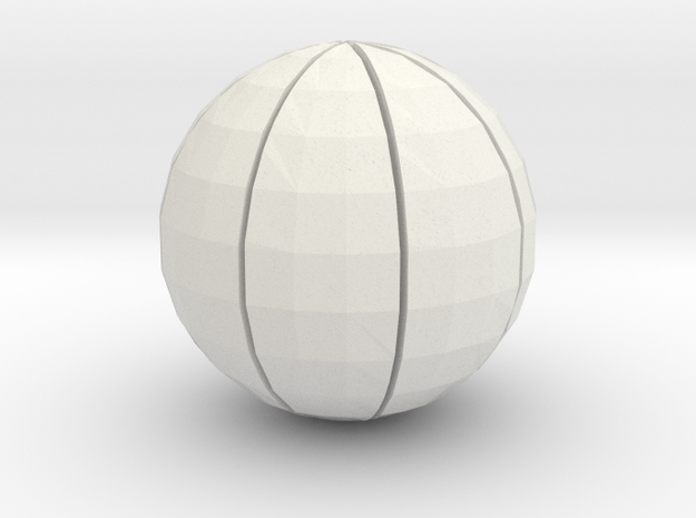Basketball 02 3d printed