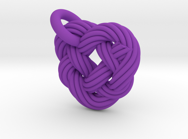 Celtic Heart Knot 3d printed