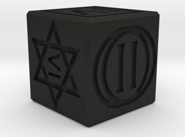 Dice 20mm D6 from 'The Witcher 2' 3d printed