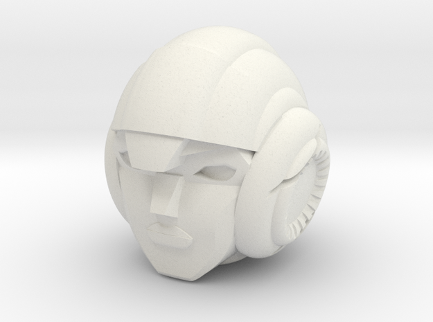 TTM Arcee Head 3d printed