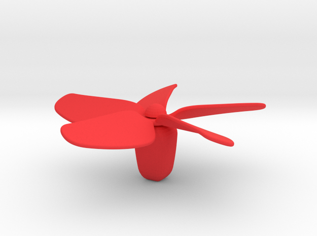 Chopstick Windmill - Flower 3d printed