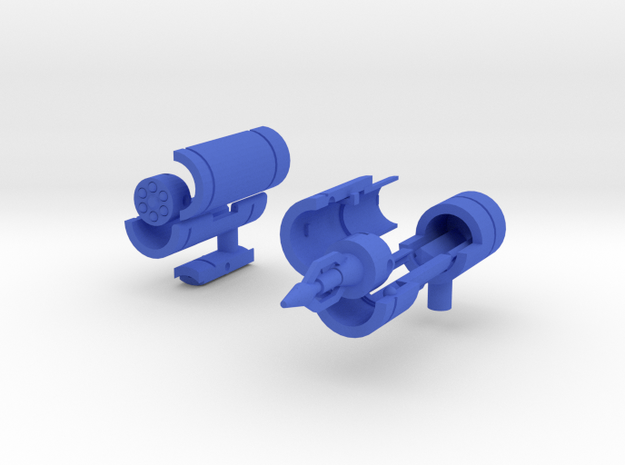 Waves of Sound Weapons 3d printed