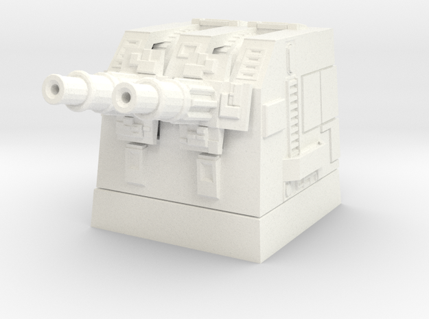 Turbolaser Short Turret 1/270 3d printed