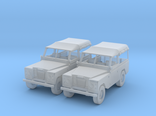 Landrover 1:55 3d printed