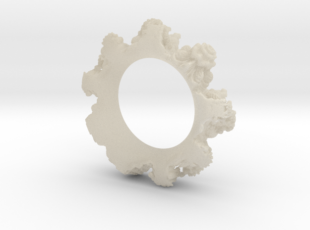 Transparent Mandelring 3d printed