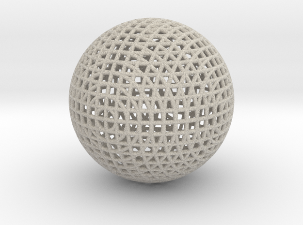 Hollow Wire Sphere V3 3d printed