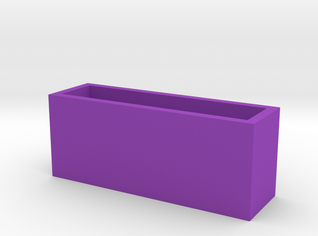 Cityscape Vase Short Extra Wide 1:12 scale 3d printed
