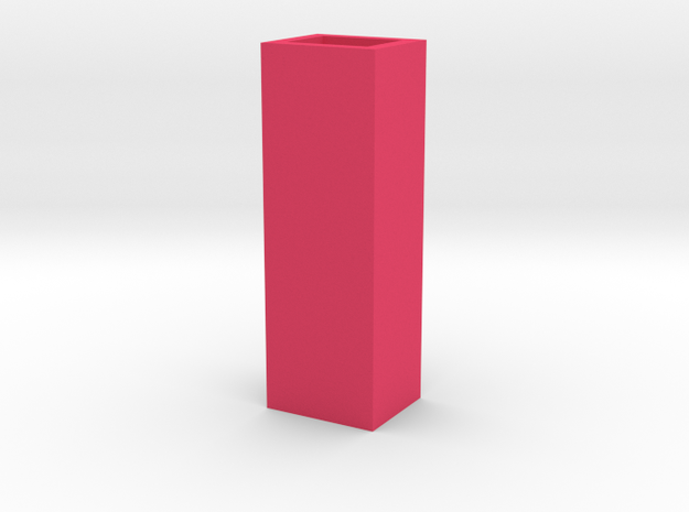 Cityscape Vase Short Skinny 1:12 scale 3d printed