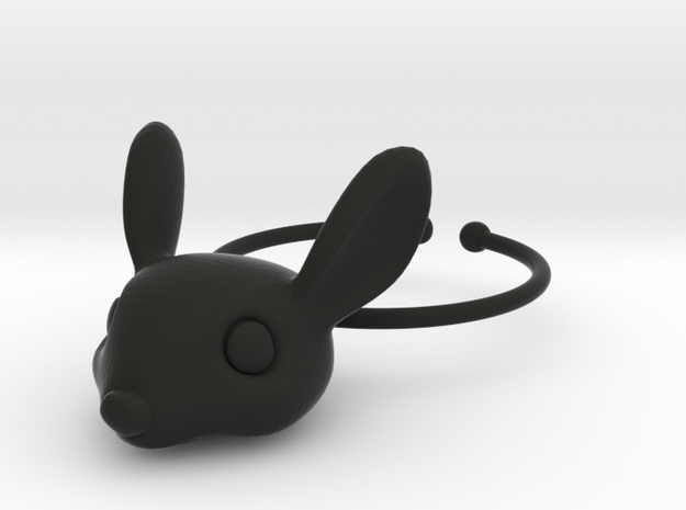 Bunny Wine Glass Charm 3d printed