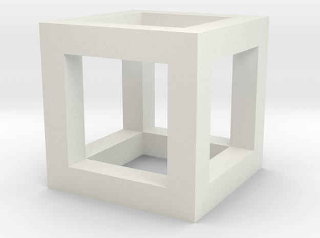 3mm Cube Frame 3d printed