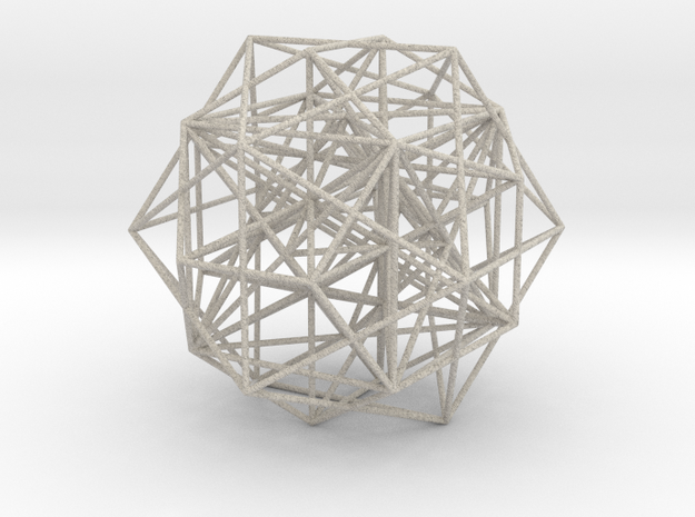 MorphoHedron11-800C178 3d printed
