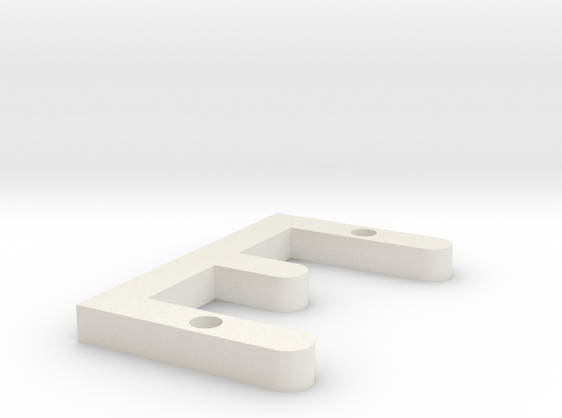 E OCR A EXTENDED 3d printed