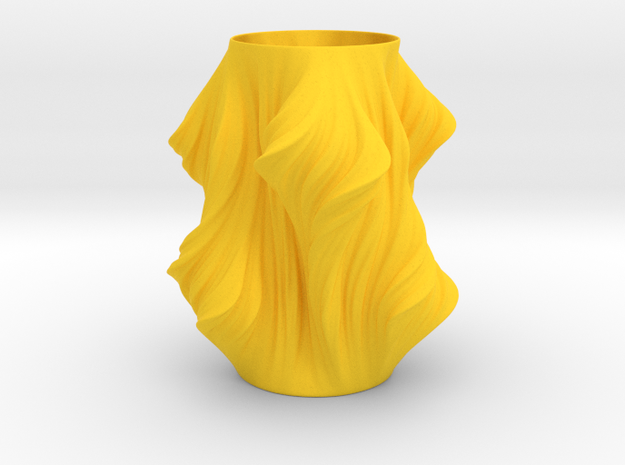 Julia Vase #011 - Heatwave 3d printed