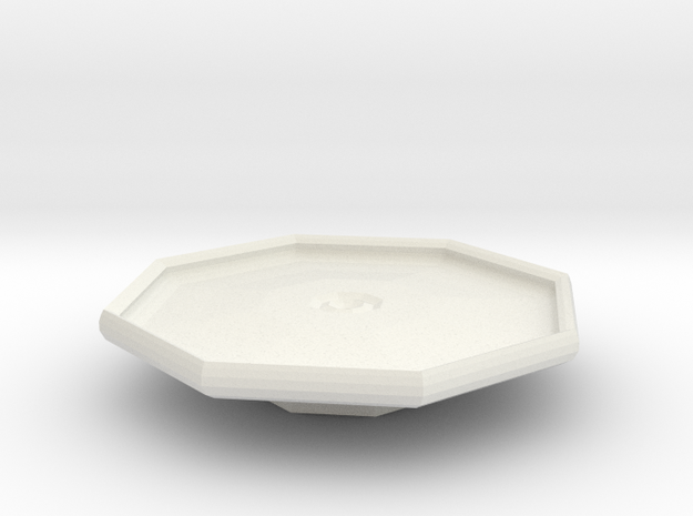 blake platter on stand 3d printed